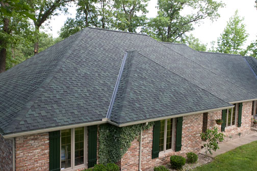 Beautiful new roofing